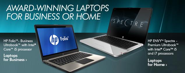 HP laptops Cardigan Ceredigion West Wales